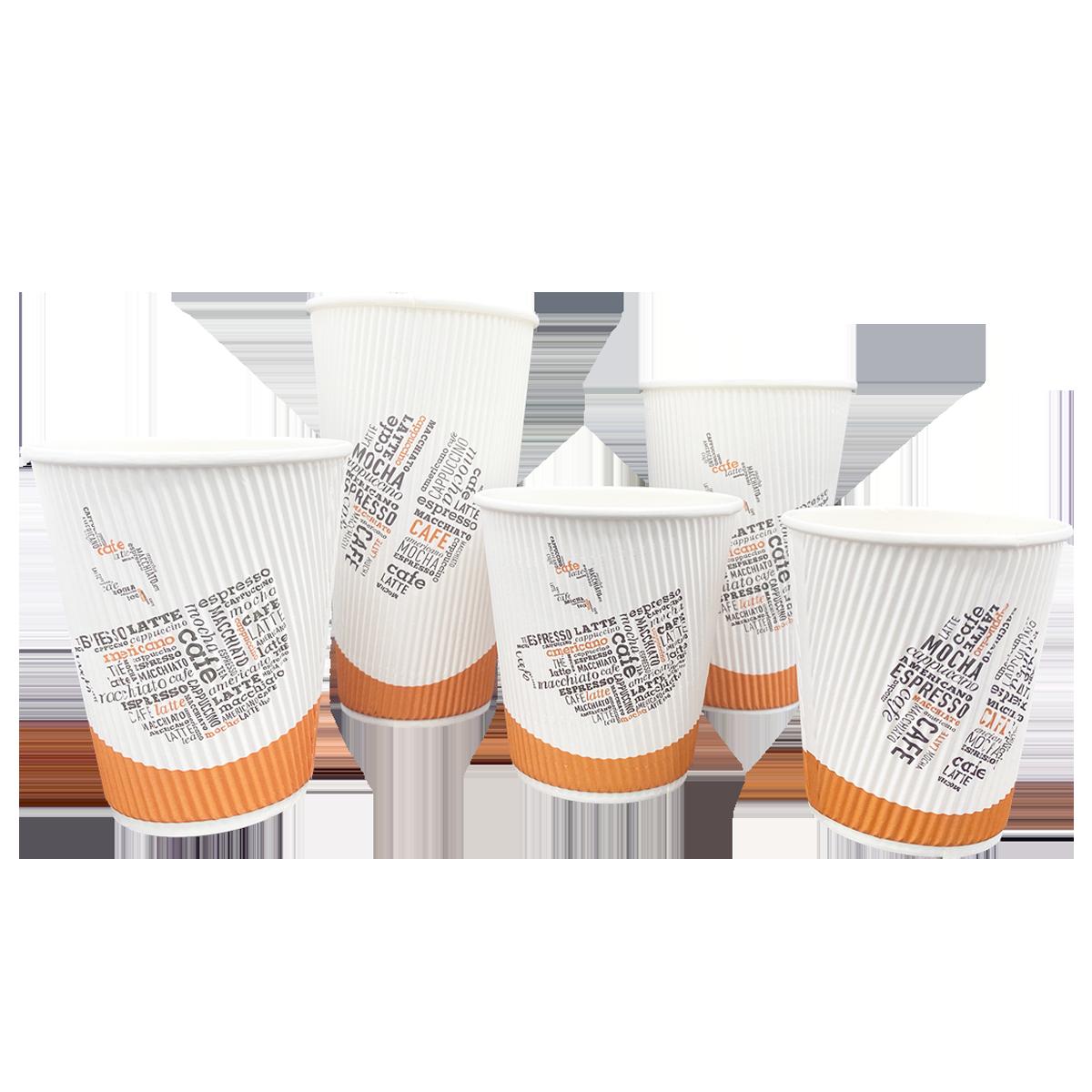 Ripple Mocha Cups